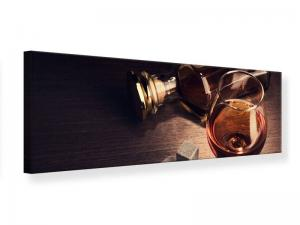 Ljudabsorberande panorama tavla - A Glass Of Cognac - SilentSwede