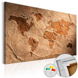 Ljuddämpande anslagstavla - Paper Map - SilentSwede
