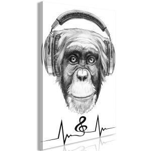 Ljuddämpande & ljudabsorberande tavla - Musical Pulse - SilentSwede