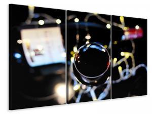 Ljuddämpande tavla - Moody red wine - SilentSwede