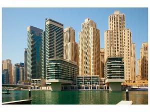 Ljudabsorberande tavla - Spectacular Skyscraper Dubai - SilentSwede