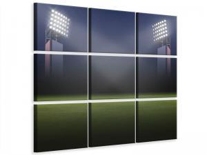 Ljudabsorberande 9 delad tavla - Soccer Stadium - SilentSwede