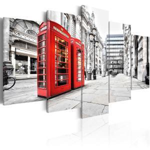 Ljuddämpande tavla - Street of London - SilentSwede