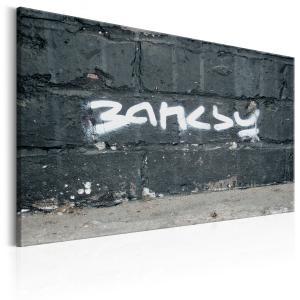 Ljuddämpande & ljudabsorberande tavla - Banksy Signature - SilentSwede