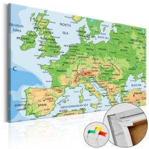 Ljuddämpande anslagstavla - Europe - SilentSwede