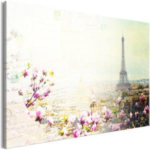 Ljuddämpande & ljudabsorberande tavla - Postcards from Paris - SilentSwede