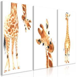 Ljuddämpande tavla - Funny Giraffes - SilentSwede