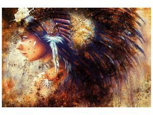 Ljudabsorberande tavla - Indians - SilentSwede