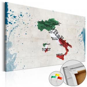 Ljuddämpande anslagstavla - Italy - SilentSwede