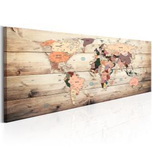 Ljuddämpande tavla - World Maps: Map of Dreams - SilentSwede