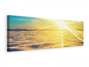 Ljuddämpande tavla - Sunset Above The Clouds - SilentSwede