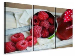 Ljuddämpande tavla - Fresh raspberries - SilentSwede