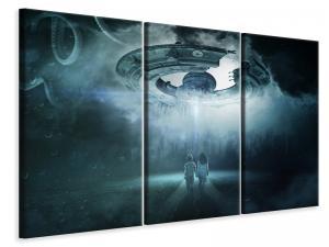 Ljuddämpande tavla - Caution ufo - SilentSwede