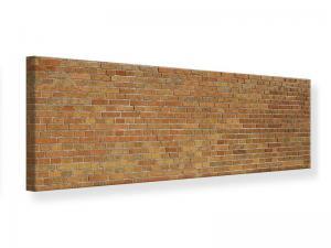 Ljudabsorberande panorama tavla - Brick Background - SilentSwede