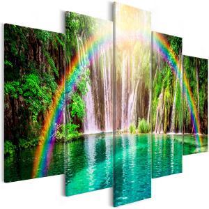 Ljuddämpande tavla - Rainbow Time - SilentSwede