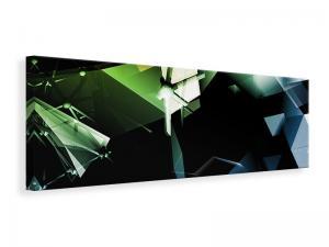 Ljuddämpande tavla - 3D Polygon - SilentSwede