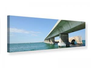 Ljudabsorberande panorama tavla - Seven Mile Bridge - SilentSwede