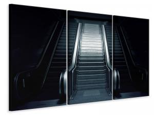 Ljuddämpande tavla - Escalator in the dark - SilentSwede