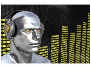 Ljuddämpande tavla - Futuristic DJ - SilentSwede