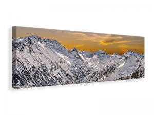 Ljuddämpande tavla - Sunset In The Mountains - SilentSwede