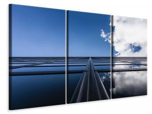 Ljuddämpande tavla - Reflection of clouds - SilentSwede