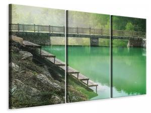 Ljuddämpande tavla - The green pond - SilentSwede