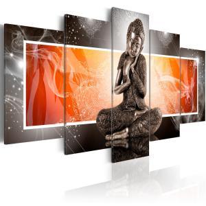 Ljuddämpande tavla - Buddha and ornaments - SilentSwede