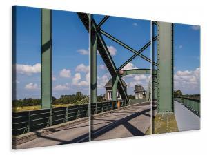 Ljuddämpande tavla - Bridge in steel construction - SilentSwede