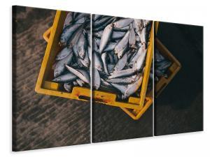 Ljuddämpande tavla - Fish in boxes - SilentSwede