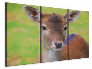 Ljuddämpande tavla - Sweet deer - SilentSwede