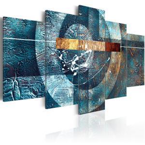 Ljuddämpande tavla - Blue Galaxy - SilentSwede