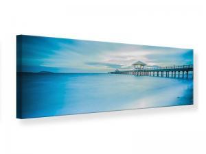 Ljudabsorberande panorama tavla - Bridge Impression - SilentSwede