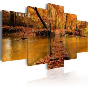 Ljuddämpande tavla - Redness of autumn - SilentSwede