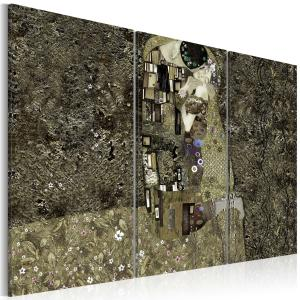 Ljuddämpande tavla - Klimt inspiration - Love - SilentSwede