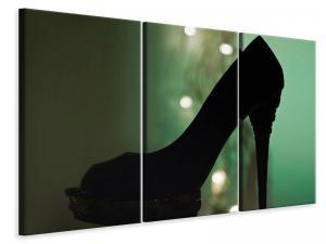 Ljuddämpande tavla - Black high heel - SilentSwede