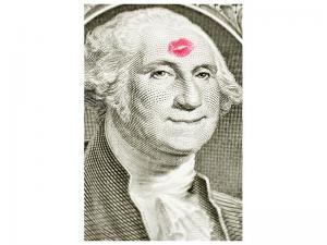Ljudabsorberande tavla - George Washington Banknote - SilentSwede