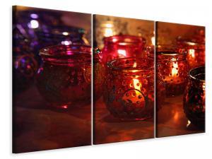 Ljuddämpande tavla - Lanterns - SilentSwede