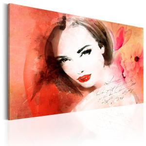 Ljuddämpande tavla - Crimson Lady - SilentSwede
