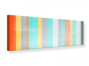 Ljudabsorberande panorama tavla - Grunge Stripes - SilentSwede