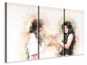 Ljuddämpande tavla - 2 women - SilentSwede