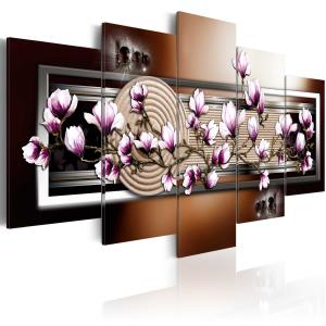 Ljuddämpande tavla - Zen garden and magnolia - SilentSwede