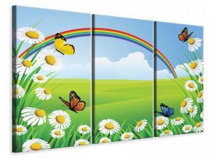 Ljuddämpande tavla - The Colorful Rainbow - SilentSwede